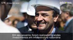 Obras de infraestrutura fizeram Minas crescer. #ParaMudarOBrasil #AecioNeves http://120diascomaecio.tumblr.com/