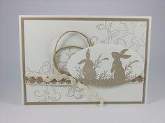 Osterkarte mit Umschlag von Stempelfee auf DaWanda.com