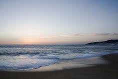 A beautiful beach in Figueira da Foz, Portugal. This coastal city has several beaches and seaport facilities.