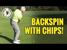 How To Get Consistently More Backspin On Chip Shots - YouTube