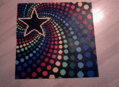 Star hama beads by ferrarigirl666, via Flickr