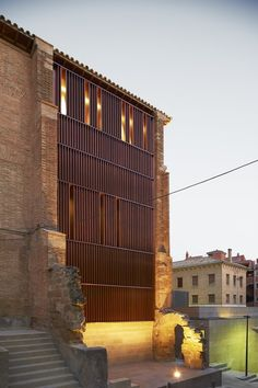 Refurbishment of the West Tower in Huesca City Hall / ACXT,© Iñaki Bergera