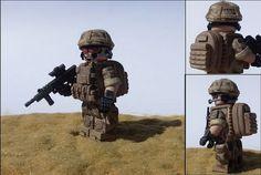 Modern British Infantry Custom Minifigure