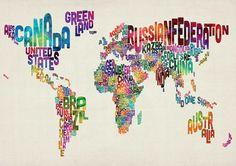 Картата на света през очите на художниците