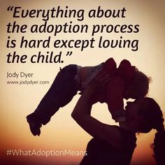 Adoption- Cannot wait for the easy part.
