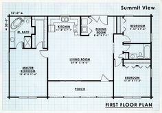 Log cabin Kit and plans for Summit View