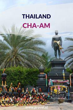 Cha-Am is een badplaats ten zuiden van Bangkok. Het strand in Cha-Am is het langste witte zandstrand van Thailand. Er zijn in Cha-Am een paar bezienswaardigheden. Wil je weten welke dat zijn, lees dan mijn artikel. Lees je mee? #chaam #strand #thailand #jtravel #jtravelblog
