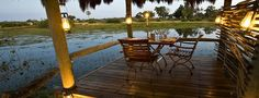 Private Dining Experiences - Mombo Camp, Moremi Game Reserve, Botswana