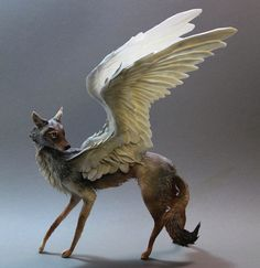 Surreal Hybrid Animal Sculptures by Ellen Jewett - My Modern Metropolis