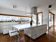 Décor do dia: cozinha clean e funcional Ilha central facilita rotina de mestres-cuca