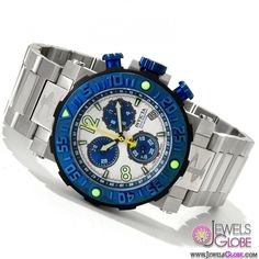 Invicta Watches Men's Reserve Collection Sea Rover Chronograph Swiss Made