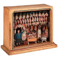 Toy Butchers Shop