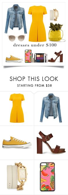 """Untitled #97"" by lucia-khewhedinoh-marchi ❤ liked on Polyvore featuring Warehouse, LE3NO, Converse, Tod's, Versus, Dolce&Gabbana and Chopard"