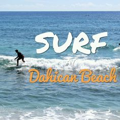 Dahican Beach is the prime attraction of Mati City in Davao Oriental. Dahican Beach is perfect for surfers, skim boarders and beach bummers. Philippines, Surfing, Waves, City, Beach, Movie Posters, The Beach, Film Poster, Seaside
