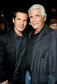 Josh & dad James Brolin