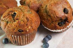 Blueberry Yogurt Bran Muffins | Kidney Community Kitchen