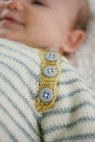 FrenchPressKnits' Sam's Stripes – Knitting Baby Jumper, Baby Cardigan, Jumper Knitting Pattern, Baby Knitting Patterns, Knitting For Kids, Knitting Projects, Crochet Baby, Knit Crochet, How To Purl Knit