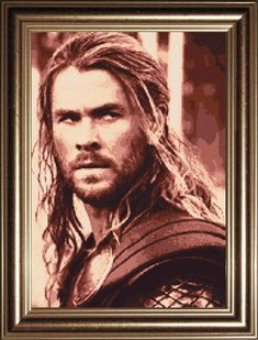 Your place to buy and sell all things handmade Avengers Superheroes, Marvel Avengers, Embroidery Floss Projects, Cross Stitch Embroidery, Cross Stitch Patterns, Thor, Loki, Chris Hemsworth, Beading Patterns