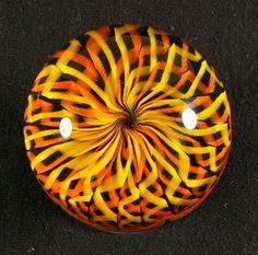 Dizzy Spells  Hand Blown Art Glass   Marble  Glass by RobberGlass, $85.00