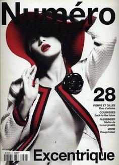 Kate Moss cover  Numero..