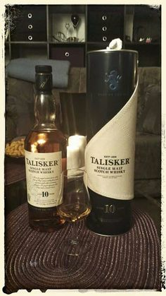 Talisker 10 Years Old Single Malt Scotch Whisky | #whiskey #whisky