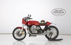 Moto Guzzi Cafe Racer by Doc Jensen - Le Mans Cafe Racer