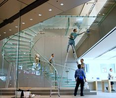 Glass Staircase 3