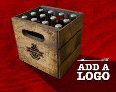 Vintage Beer Crate - 12 Bottles