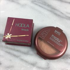 Makeup Dupe – Hoola Dupe – Drogerie Dupe – Nutzen Hoola Bronzer Dupe – Hoola B … - Make Up Drugstore Makeup Dupes, Beauty Dupes, Makeup Swatches, Beauty Makeup, Mac Dupes, Makeup Geek, Good Drugstore Bronzer, Makeup Brush Dupes, Drugstore Blush