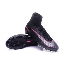 separation shoes 248be a3c2a Boys  Nike Mercurial Superfly V FG Black Pink Blast cheap football shoes  Nike Mercurial