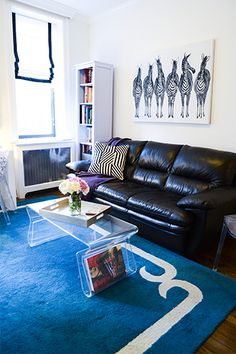This West Village Apartment Is Full Of Clever Space-Saving Ideas  #refinery29