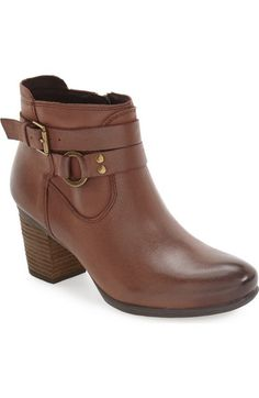 Josef Seibel 'Britney 50' Ankle Strap Bootie (Women) available at #Nordstrom