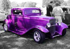 Hot Purple Car