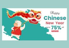 Premium Vector   Winter sale banner discount with with flat zodic ox illustration Chines New Year, Sale Banner, Winter Sale, Ox, Flat, Illustration, Projects, Log Projects, Bass