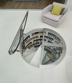 Spiraal wijnkelder | Als een wijnrek te min is | Wonen voor Mannen