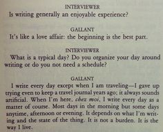 """""""I write every day... It is not a burden. It is the way I live."""" ~ Mavis Gallant"""