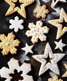 christmas biscuits recipe from Booths Christmas book 2014 by smithandvillage.com