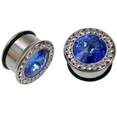 Diamond Ear Plugs...pretty and shiny