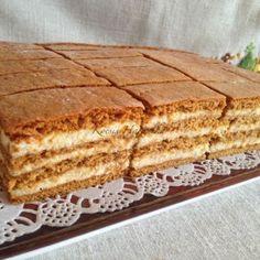 Honey Recipes, My Recipes, Sweet Recipes, Cake Recipes, Dessert Recipes, Hungarian Desserts, Hungarian Cake, Hungarian Recipes, Ital Food