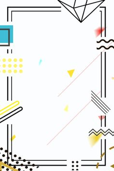 geometric lines line border frame geometric border Poster Background Design, Powerpoint Background Design, Frame Background, Background Templates, Paper Background, Geometric Poster, Geometric Lines, Geometric Background, Colorful Frames