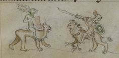 The Queen Mary Psalter 1310-1320 Royal MS 2 B VII  Folio 141r