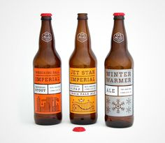 No-Li Brewhouse: Imperial Series - The Dieline -