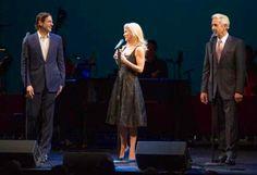 Greg Naughton, Kelli O'Hara (Naughton) & James Naughton