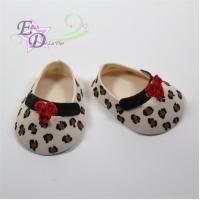 Girl shoe cutter set/ Cortadores de zapatito de niña