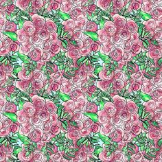 NEGATIVE SPACE IS FOR SUCKERS  #print #floral #flower #pattern #textiledesign #surfacedesign #pastel #printdesign