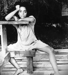 Lisa Bonet during her Angel Heart years