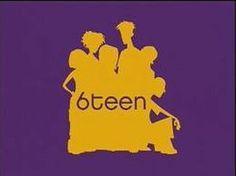 #6teen #animation #cartoons #logo #titlecard
