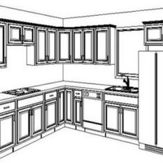 Kitchen Cabinet Design Layout Tool, Kitchen Floor Planner U2013 Zipper