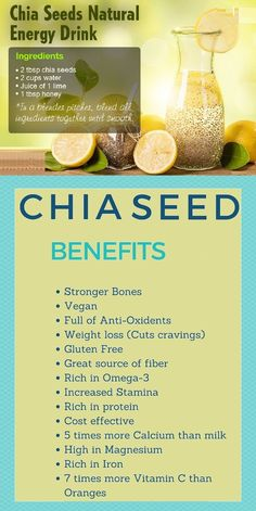 Chia Seeds Provide Health And Weight Loss Benefits. chia seeds weight loss plans… – Detox Cleanse For Weight Loss Weight Loss Meals, Weight Loss Drinks, Weight Loss Smoothies, Chia Seed Recipes For Weight Loss, Natural Energy Drinks, Natural Detox Drinks, Fat Burning Detox Drinks, Fat Burning Foods, Healthy Detox