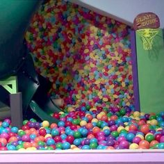 Doesn't every home need an indoor 65-foot ball pit and slide for the kids? (And maybe for Mom and Dad, too?)